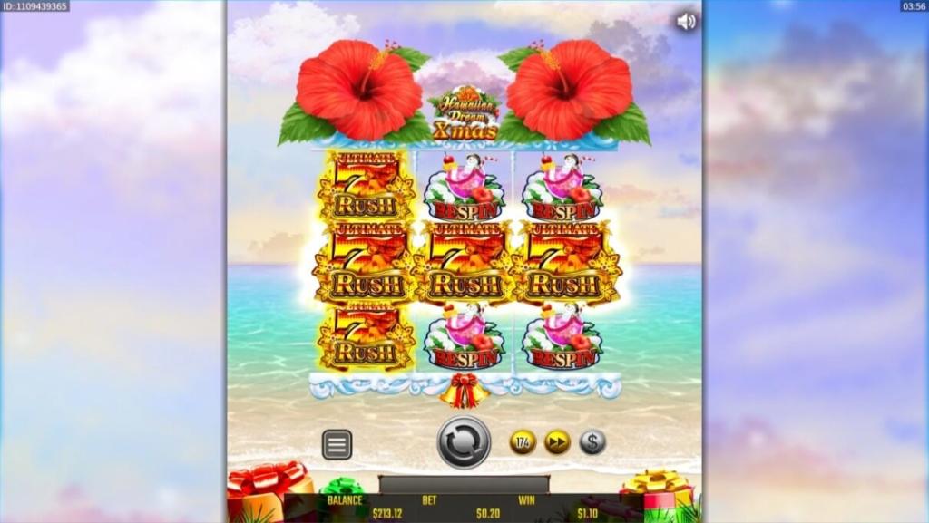Hawaiian Dream Xmasのリスピンでアルティメットラッシュを引き当てた画像