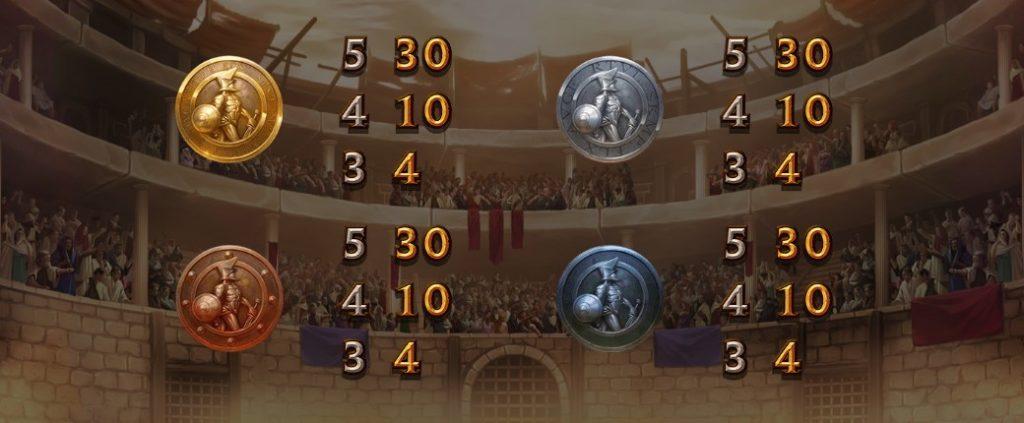 CHAMPIONS OF ROMEのシールド絵柄。