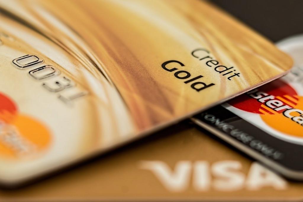 クレジットカードの画像。