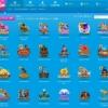 ベラジョンカジノのスロット一覧画面。