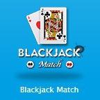 ブラックジャックマッチのアイコン画像。