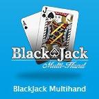 ブラックジャックマルチハンドのアイコン画像。
