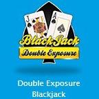 Double Exposure Blackjackのアイコン画像。
