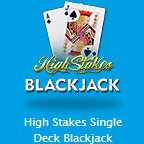 High Stakes Single Deck Blackjackのアイコン画像。