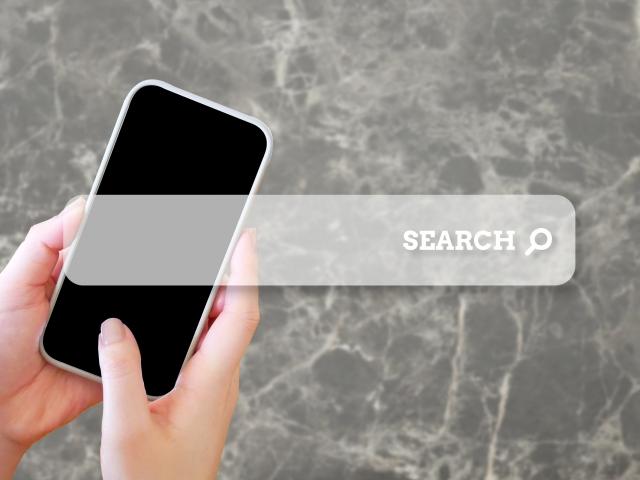 検索のイメージ画像。