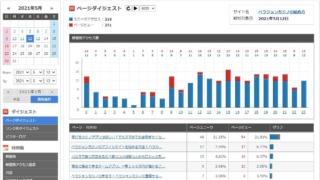 アクセス解析レポート画像