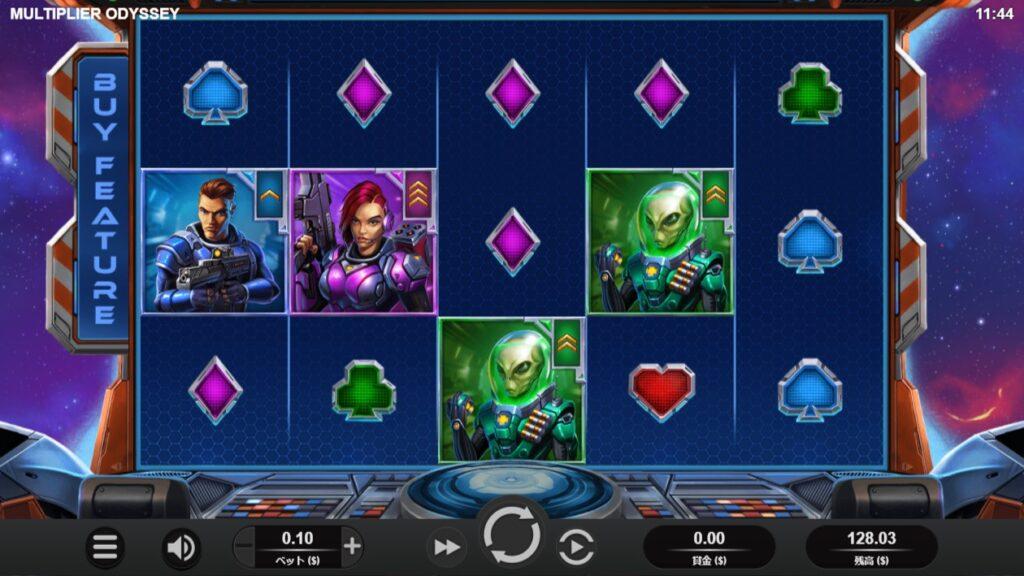 Multiplier Odysseyのプレイ画像。